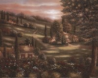 Evening in Tuscany I Fine-Art Print