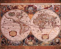 Map - Geographica Fine-Art Print