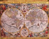 Map - Orbis Terrarum Fine-Art Print