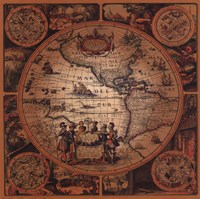 Map - Cartographica 2 Fine-Art Print