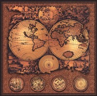 Map - Cartographica 3 Fine-Art Print