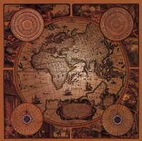 Map - Cartographica 1 Fine-Art Print