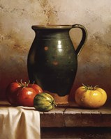 Green Pitcher, Heirlooms & Cloth Fine-Art Print