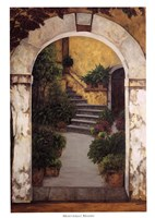 Entrada al Patio Fine-Art Print