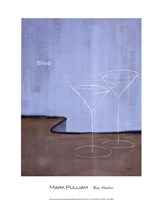 Blue Martini Fine-Art Print