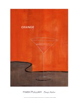 Orange Martini Fine-Art Print