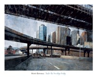 Under the Brooklyn Bridge Fine-Art Print