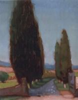 Cypress Trees II Fine-Art Print