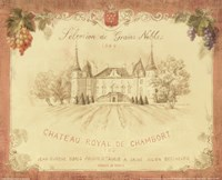 Chateau Royal de Chambort Fine-Art Print