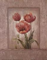 Crimson Trio II Fine-Art Print