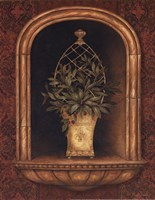 Olive Topiary Niches II - special Fine-Art Print