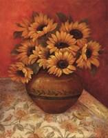 Tuscan Sunflowers II - mini Fine-Art Print