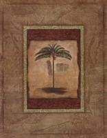 Palm Botanical Study II Fine-Art Print