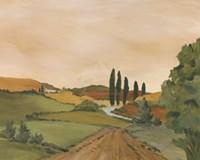 Sunny Tuscan Road Fine-Art Print