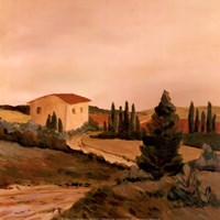 Sunny Tuscan Fields Fine-Art Print