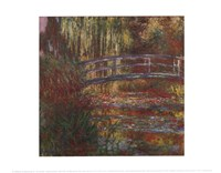 The Water Lily Pond, 1900 Fine-Art Print