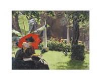 Afternoon in the Cluny Garden, Paris, 1889 Fine-Art Print
