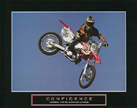 Confidence  Motorbiker Fine-Art Print