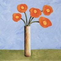 Marmalade Bouquet I Fine-Art Print