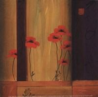 Poppy Tile I Fine-Art Print