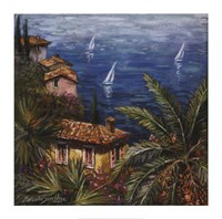 View Through Palms Fine-Art Print