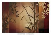 Flaxen Silhouette Fine-Art Print