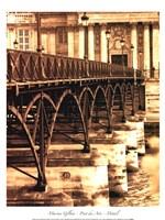 Ponts des Arts - Dtail Fine-Art Print
