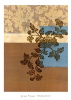 Peony Branch II Fine-Art Print