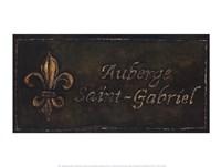Auberge Saint-Gabriel Fine-Art Print