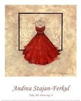 Take Me Dancing II (red) Fine-Art Print