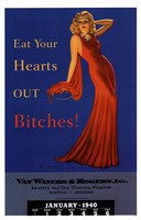 Pin Up: Eat Your Hearts Out Bitches! Fine-Art Print