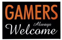 Gamers Always Welcome Fine-Art Print