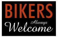 Bikers Always Welcome Fine-Art Print