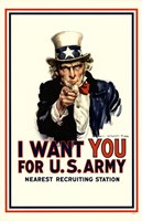 I Want You For Us Army Fine-Art Print