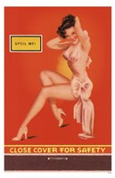 Spoil Me Pin-Up Fine-Art Print