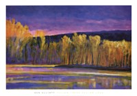 Yellow Trees, Yellow Lake Fine-Art Print