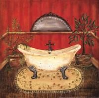 Bath in Red II Fine-Art Print