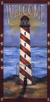 Welcome - Lighthouse Fine-Art Print