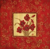 Orchids In Red Fine-Art Print