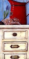Cape Red I Framed Print