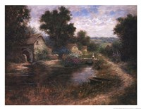 Watermill Pond Fine-Art Print
