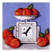Peaches on Scale Fine-Art Print