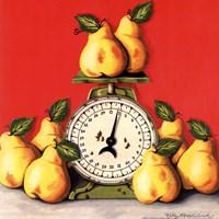 Pears on Scale Fine-Art Print