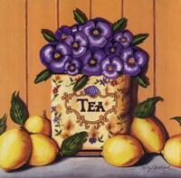 Tea Pansies Fine-Art Print