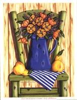 Old Wooden Chair Fine-Art Print