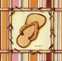 Bamboo Flip Flop I Fine-Art Print
