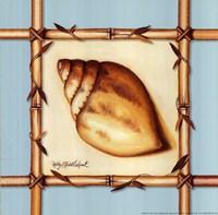 Bamboo Seashell I Fine-Art Print