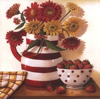 Strawberries in a Bowl Fine-Art Print