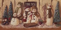 Think Snow Fine-Art Print