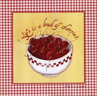 Bowl of Cherries Fine-Art Print